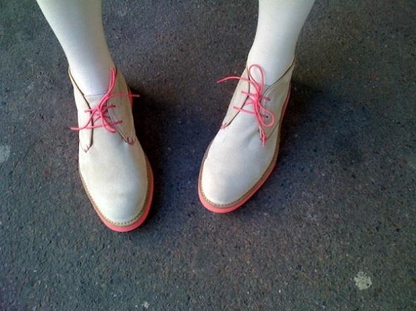 roze cipele